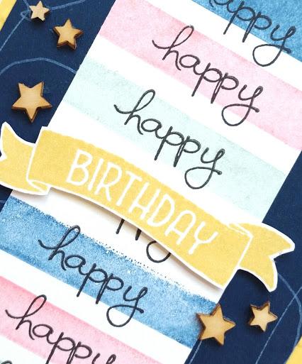 Time of Year Birthday Card CloseUp