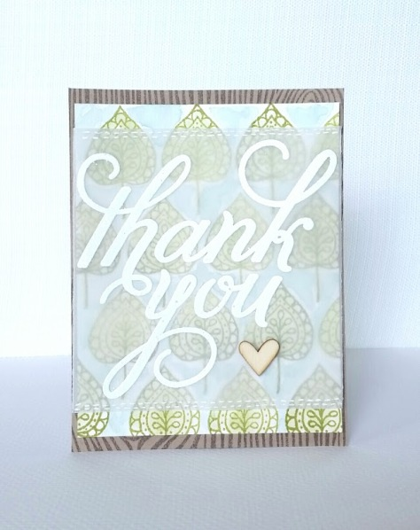Thank You Stampin'Up!