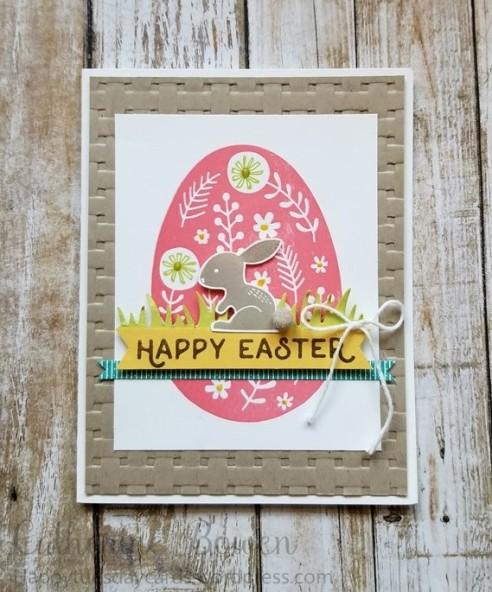 Easter Eggs PomPom Watermark